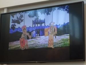 Still uit een animatiefilm van leerlingen van de Bosbeekschool uit Velsen.